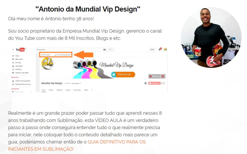 Antonio - Mundial Vip Design